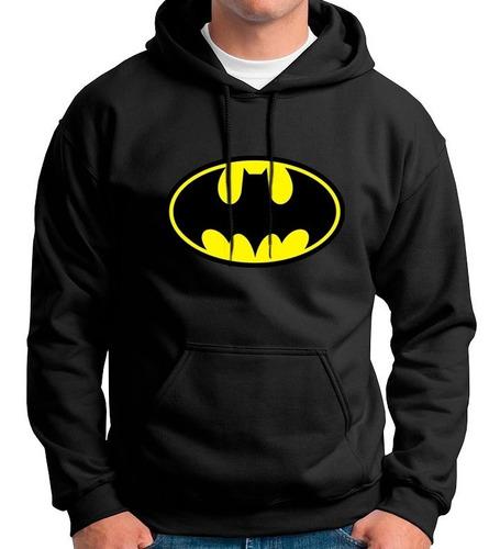 Buzo Hoddie Capota Cerrado Batman Dc Comics