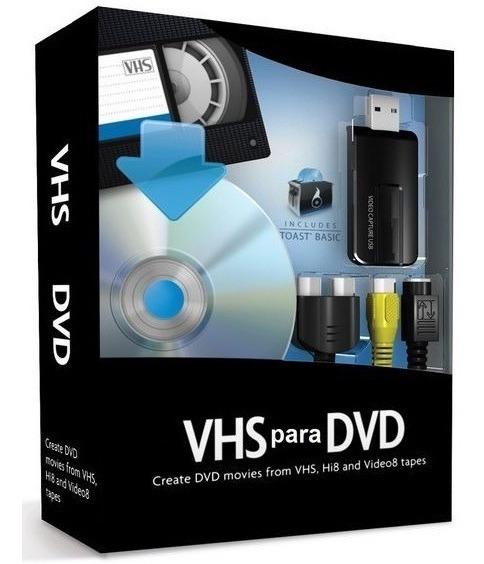 Fitas De Video Vhs Em Dvd Placa Captura Usb Facil Rapido
