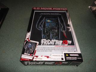 Friday The 13th - Mcfarlane - Cuadro 3d - Jason Voorhees