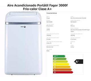 Aire Acondicionado Portátil Fagor Pa-fa 300 C/entrega Outlet
