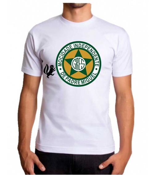 Camisa Mocidade Camiseta Escola De Samba Blusa Carnaval Rio De Janeiro Rj