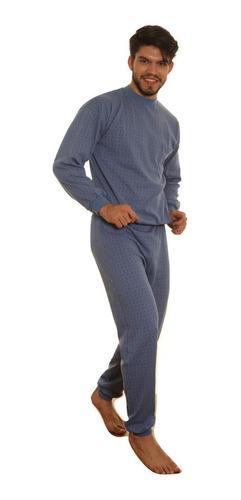 Imagen 1 de 9 de Pijama Hombre Invierno Yacard Pesado Excelente Calidad