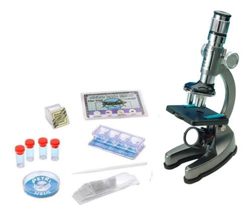Microscópio Escolar Com Zoom 900x