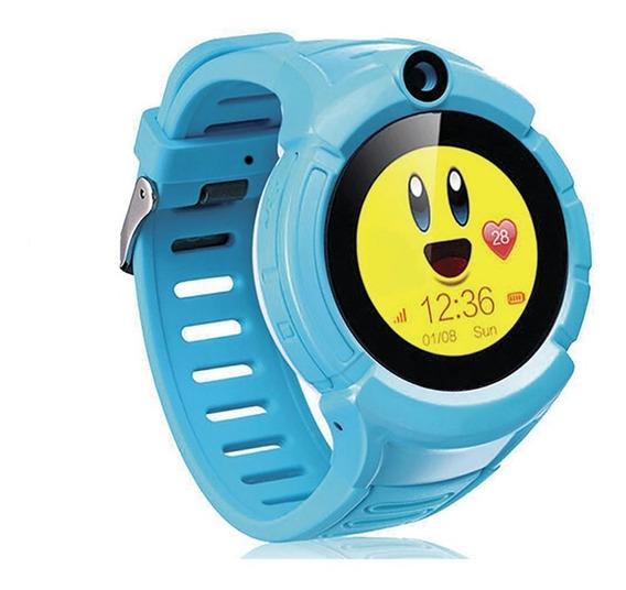 Smartwatch Kids Bluetooth Tactil Video Gps Sleep Microfono