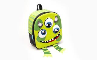 Mochila Espalda 11p 3d Jardin Crazy Monsters Pf 41231 Edu