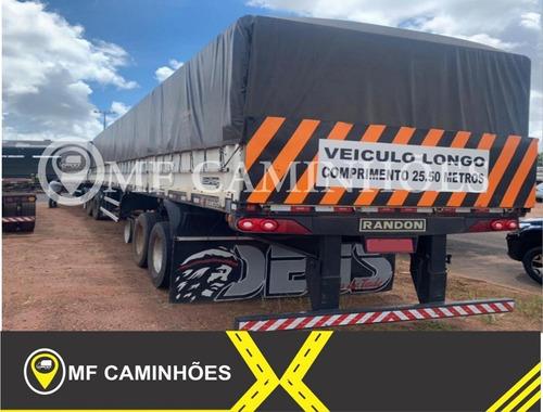 Bitrenzão Randon Graneleiro 3x3 Longo 2016/2017 S/pneus.