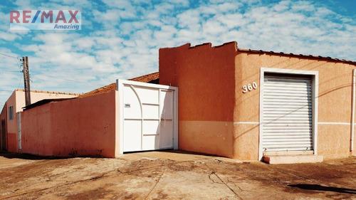 Imagem 1 de 14 de Casa Com 2 Dormitórios À Venda, 157 M² Por R$ 200.000,00 - Cohab 3 - São Manuel/sp - Ca0086