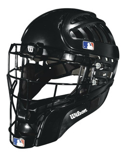 Careta Estilo Hockey Para Catcher Wilson Negra