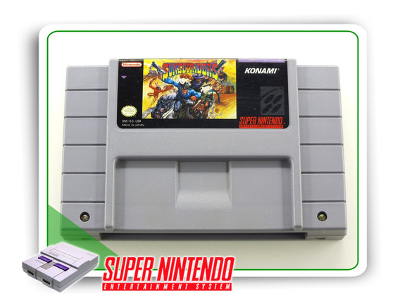 Sunset Riders Original Snes Super Nintendo