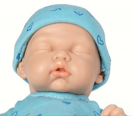 Bebe Casi Real Tipo Reborn Recien Nacido Dormido 26cm Full