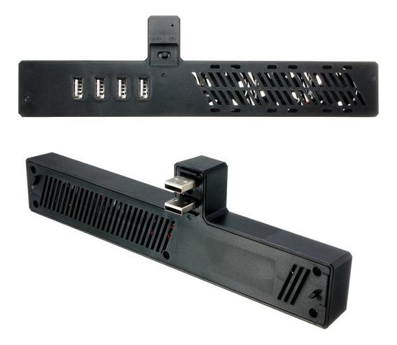1 Pc Ventilador Refrigerador Com 4 Portas Hub Usb Para Micro