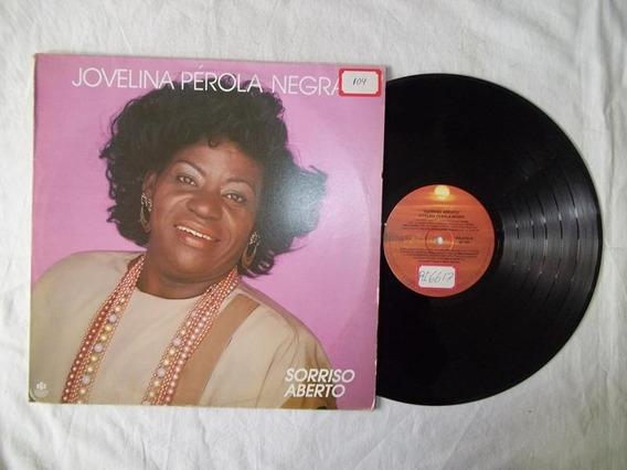 Lp Vinil - Jovelina Perola Negra - Sorriso Aberto