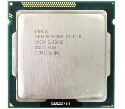 Processador Intel Xeon E3 1240 - Lga 1155