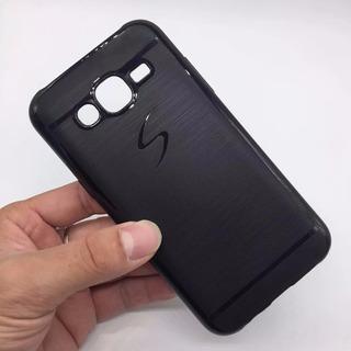 Capa Samsung Galaxy J5 - J500 Capinha Preta Anti Impacto.