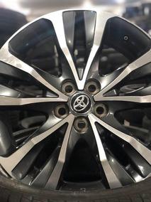 Roda Toyota Corolla Aro 17 2018 Original Semi Nova Grafite