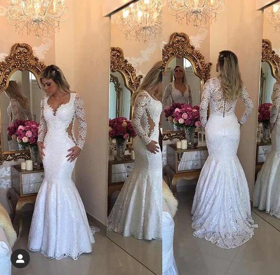 Vestido De Noiva Barbara Mello