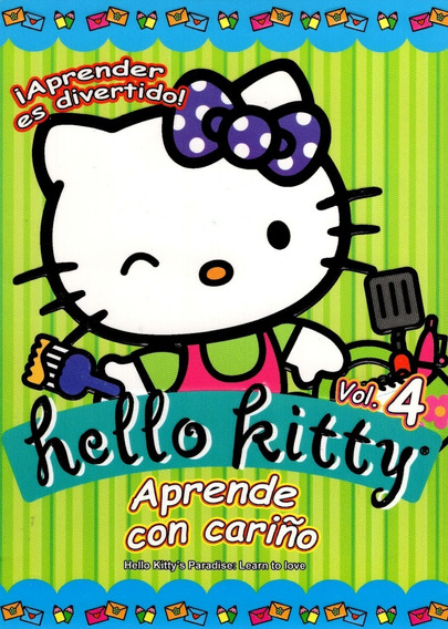 Hello Kitty Aprende Con Cariño Volumen 4 Dvd