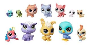 Littlest Pet Shop 12 Figuritas Doce De La Suerte