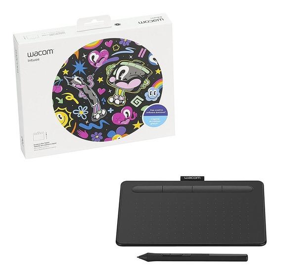 Mesa Digitalizadora Wacom Ctl-4100wl 4096 Pressão Bluetooth