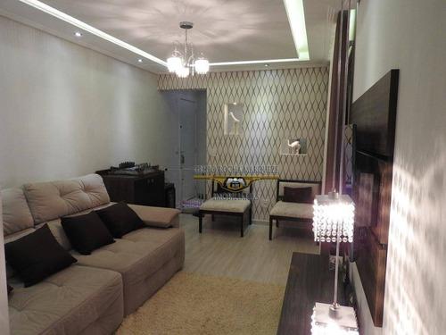 Apartamento Com 2 Dormitórios À Venda, 65 M² Por R$ 505.000,00 - Catumbi - São Paulo/sp - Ap2654