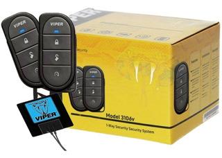 Alarma Viper 3106v + Led Viper + Sirena + Sensor + Antena