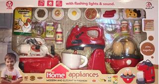 Juguete De Cocina Para Niños Electrodomesticos Luz Y Sonido