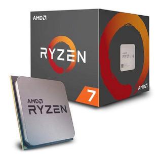Procesador Amd Ryzen 7 2700x 8-core 3.7 Ghz 4.3 Ghz- Boleta