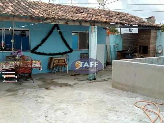 Casa Com 3 Quartos À Venda, 250 M² Por R$ 130.000 - Unamar - Cabo Frio/rj - Ca1116