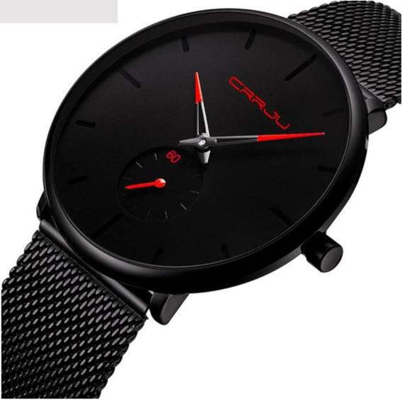 Relógio Masculino Crrju 2150 Original Frete Grátis