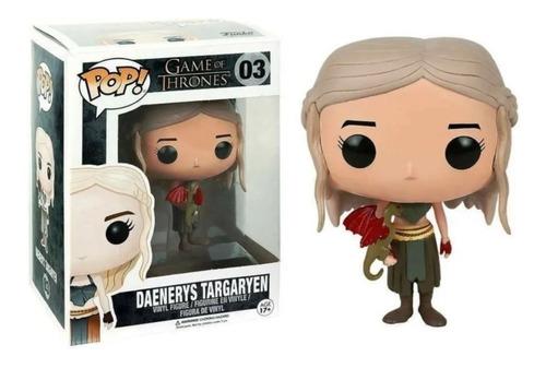 Imagen 1 de 1 de Funko Pop Daenerys Targaryen 03 Game Of Thrones