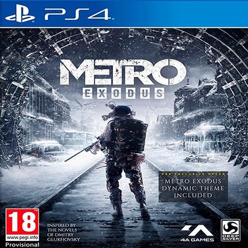 Metrô Exodus- Metro Exodus Ps4 - Envio Imediato