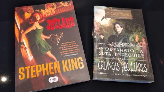 Livro Joyland Stephen King + O Orfanato Da Srta Peregrine