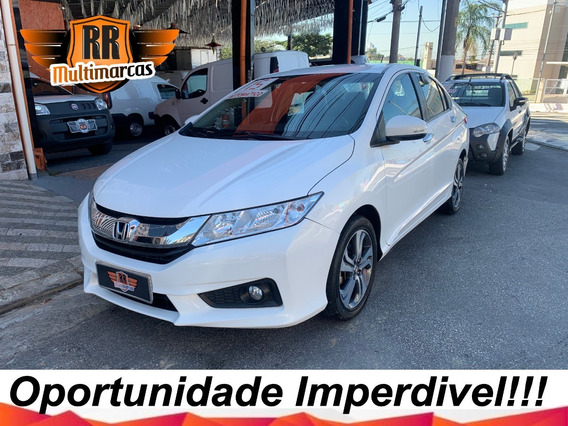 Honda City Ex 1.5 Flex 2015 Completo Autos Rr
