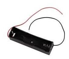 Suporte Case Caixa Plastica Box 1 Bateria 18650 Arduino