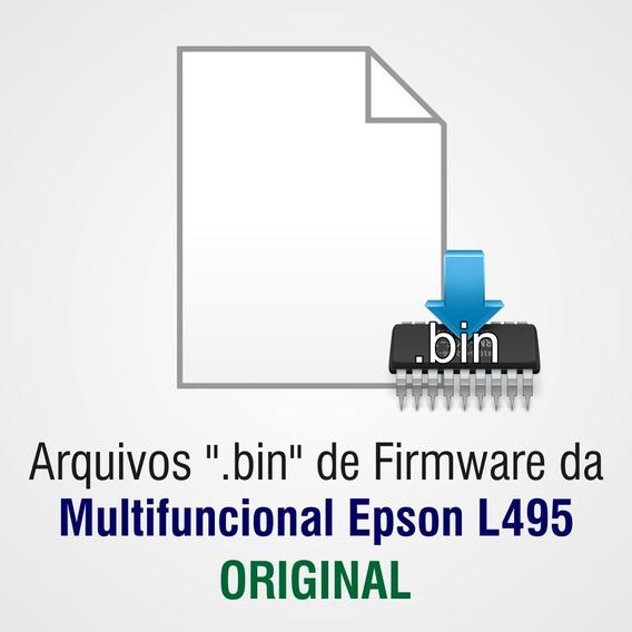 Arquivo Bin Epson L495 Original