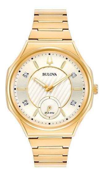 Reloj Bulova Curv 97p136 Nuevo Original Envio Gratis E-watch
