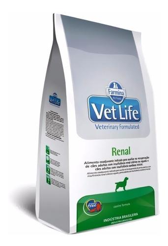 Farmina Vet Life Renal 10kg Perro Problemas Renales Kd K/d