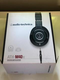 Auriculares Audio Technica Ath-m40x