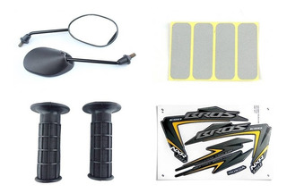 Adesivo / Refletor Capacete / Retrovisor / Manoplas Bros/nxr 150