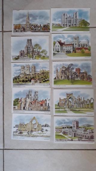 Ronald Maddox - Laminas Postales Catedrales Inglesas-lote