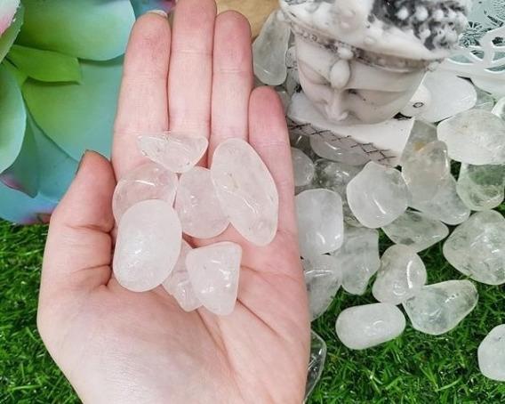 Cristal Rolado Natural De Alta Qualidade - Pacote 1kg