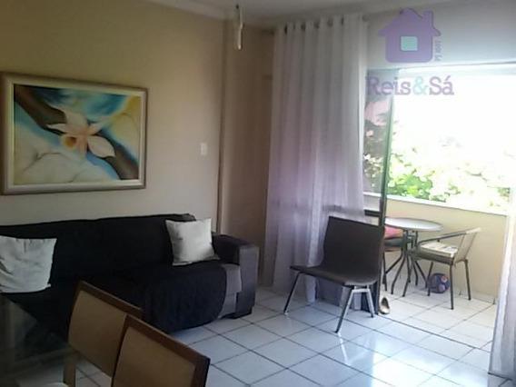 Apartamento 2 Quartos, Suíte, 84m², Nascente - Rio Vermelho - Ap1397