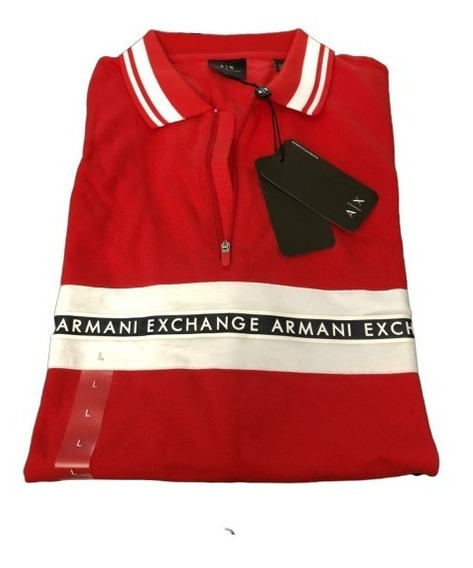 Playera Tipo Polo Armani Exchange Talla L