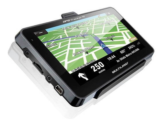 Navegador Gps Multilaser Tracker2 Slim 4,3 Touch Screen