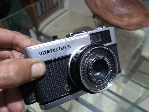 Olimpus Trip 35 Máquina Fotográfica Analógica Muito Nova!