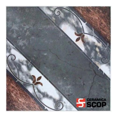 Ceramica Moca Beige Scop Piso Pared 45x45 Marmolada 1ra