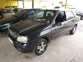 Renault Clio Rn 1.0 1997 Azul Gasolina