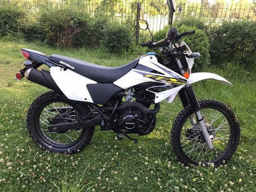 Motorrad Ttx250 Color Blanco