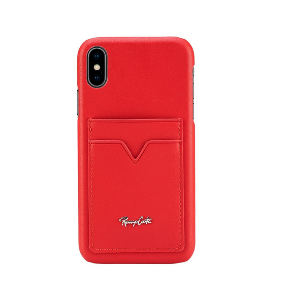 Case Renzo Costa iPhone Xr Pcel Lau-18 Lc08 Leather Red