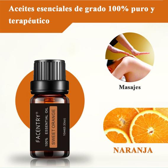 Aceite Esencial De Naranja Dulce 100% Puro P/masajes